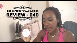 Cushion Review - Dior Capture Totale DreamSkin Perfect Cushion in 040