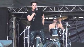 Adam Lambert - Sleepwalker (live in Moscow) 28/05/11