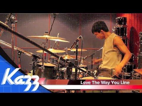 Love The Way You Lie - A Skylit Drive - Kazz3over4(Drums Cover)