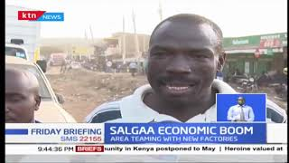 Salgaa area experiencing economic boom