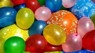 FUN WATER BALLOONS POP PART 6!!!