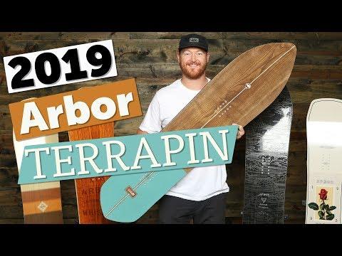 2019 Arbor Terrapin Snowboard Review