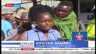 Bawabu auawa huko Kakamega watu wasiojulikana