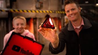 What's inside YouTube Red Diamond Award?