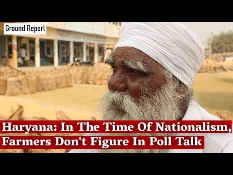 Haryana: In The Time Of Nationalism, Farmers Don't Figure In Poll Talk