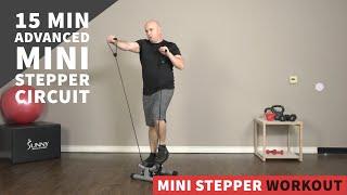 15 Min Advanced Mini Stepper Circuit Workout