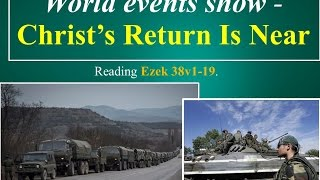 End Time Prophecy: World Events in 2015 Show Christ's Return is near!
