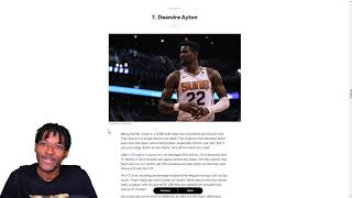 REACTING TO TOP 15 CENTERS IN THE NBA LIST