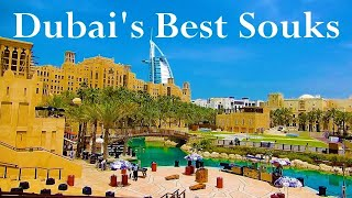 Top 5 Dubai's Souks And Markets. City's Top Arabian Markets. Dubais Bazaars.