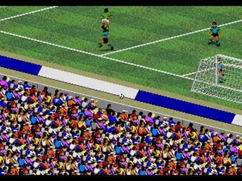 FIFA International Soccer Argentina vs Mexico Sega Genesis / Mega Drive
