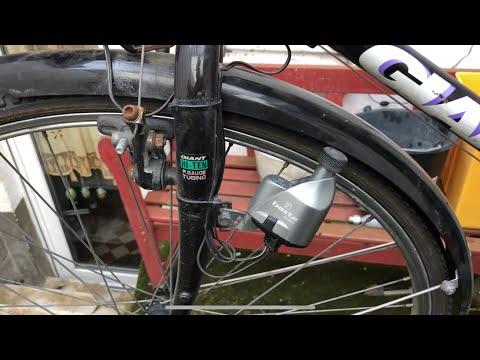 Fahrrad Schutzblech montieren vorne Trekking Vorderrad Schutzblech Montage Anleitung