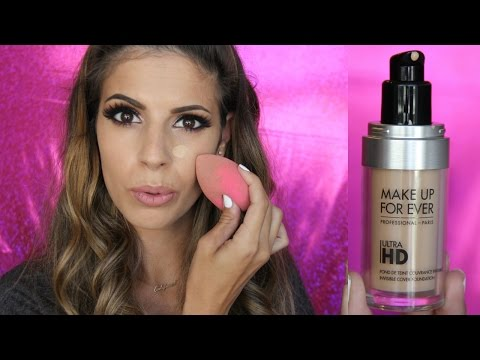MakeUp Forever Ultra HD Foundation Review + Demo