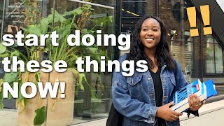 Going To Uni? Things To Start Doing NOW To Prepare For University 2021 📚