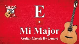 ★ ★ ★ Mi Major | How To Play E Chord On Guitar | Mi Major Akoru Gitarda Nasıl Basılır ?