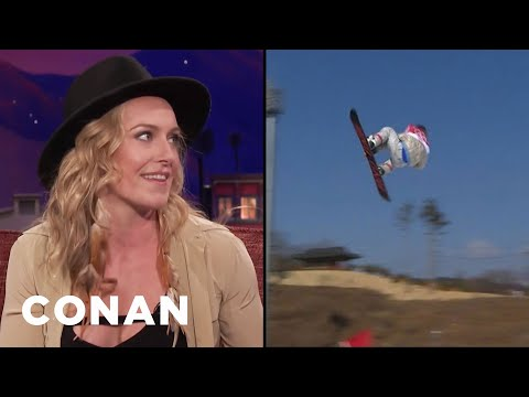 Jamie Anderson Tapped Into Her Inner Lioness At The Olympics   CONAN on TBS