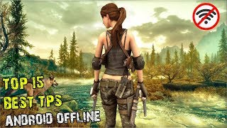 15 Games Android TPS OFFLINE Terbaik I Best TPS games for Android Offline