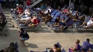 Hairy Chest Contest - Carnival Elation 2013