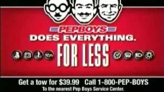 Pep Boys Commercial Gone Wrong