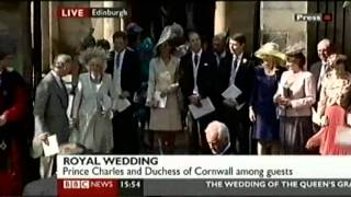Royal Wedding: Zara Phillips 2/2
