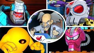 Mega Man 11 - All Bosses & Ending