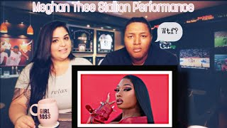 """REACTING TO Megan Thee Stallion Is A Hot Girl With """"Girls In The Hood"""" & """"Savage"""" Performance"""