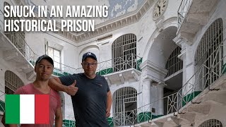 URBEX | Snuck inside an epic prison for 24 hours