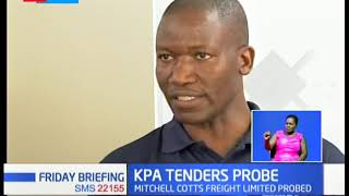 KPA tender probe ropes Mitchell Cotts Freight Limited