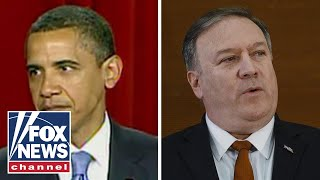 Pompeo slams Obama's foreign policy in Cairo speech