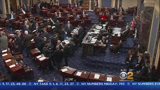 Federal Government Shuts Down As Partisan Blame Game Heats Up