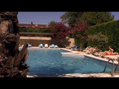 La piscine du Camping Pegomas