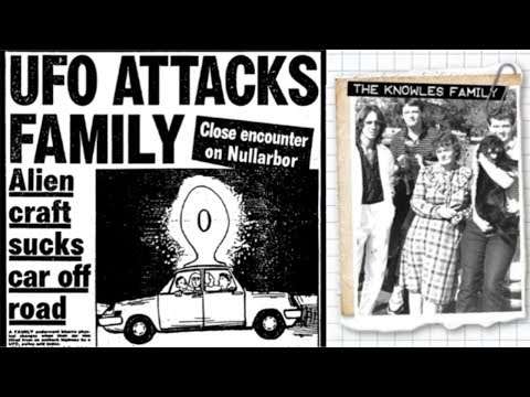 Close UFO Encounter & Attack by Family Knowles on Nullarbor Plain in Australia (1988) - FindingUFO