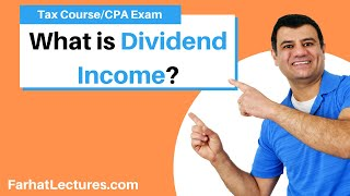 Qualified Dividend Income  | Tax Cuts And Jobs Act Of 2017 | CPA Exam Regulation