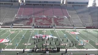 Damien Spartan Regiment's Western Band Association Grand Championship Performance 112215