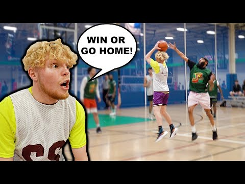 WIN OR GO HOME! Semi Finals 5v5 Men's League Basketball!
