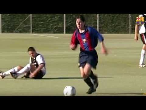 Lionel Messi ● Age 16 Rare Skills, Goals & Dribbles |La Masia| HD