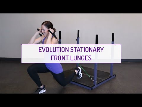 Evolution Stationary Front Lunges