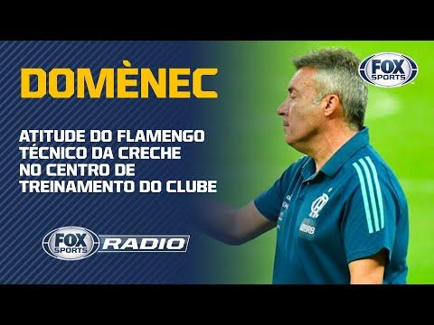 DOMÈNEC ESTÁ SE MUDANDO PARA O NINHO DO URUBU! 'Fox Sports Rádio' comenta atitude