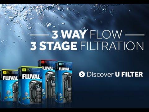 Fluval U-Series Aquarium Filter Maintenance Tips
