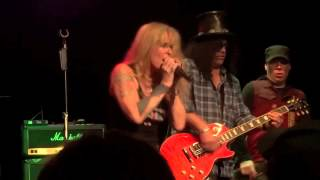 Lita Ford And Slash - Black Leather (Sex Pistols),  Whisky In Los Angeles 01-09-2013