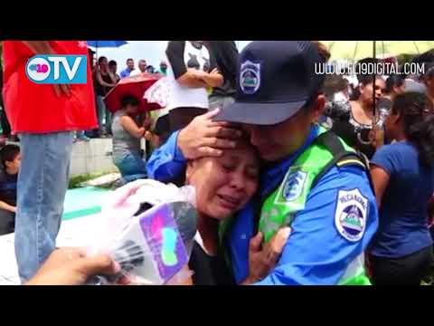 """""""Último adiós a policías asesinados en Morrito"""""""