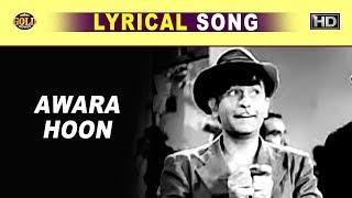 Awara Hoon आवारा हूँ - Mukesh - Awaara - Lyrical