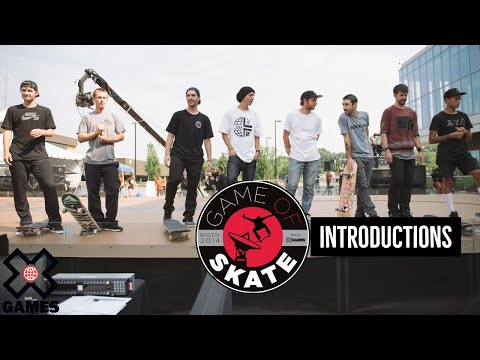 World Of X Games Game of Skate -- Tim O'Connor introductions
