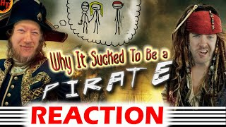 Why It Sucked to Be a Pirate! Sam Onella REACTION