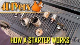 How A Starter Motor Works