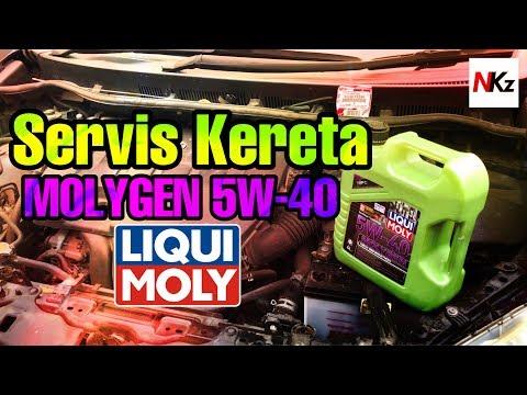 Servis #ToyotaWish #ZGE20 Dengan #Molygen #LiquiMoly 5W-40