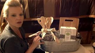 Housewarming Gift Basket In 20 Minutes