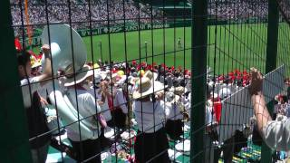 2011夏の高校野球 今治西高校の応援 The cheering squad of Imabari Nishi High School