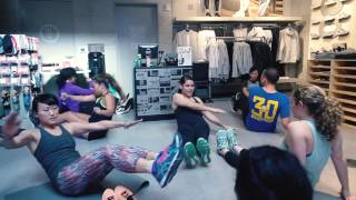 Darren Michaels - Abs For Days Class at New Balance Global Flagship San Francisco Store