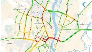 Великий Новгород одолевают пробки