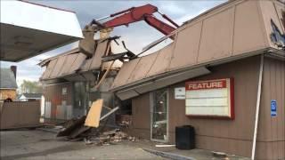 Gallipolis, Ohio, Speedway Gas Station Demolition